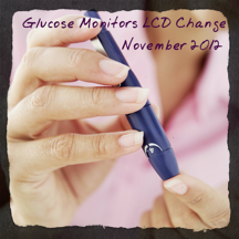 Glucose Monitors LCD Change