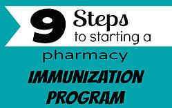 steps to start independent pharmacy immunization program