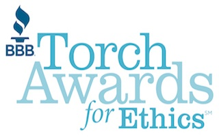 R.J. Hedges Wins Runner-up of BBB Torch Award for Ethics